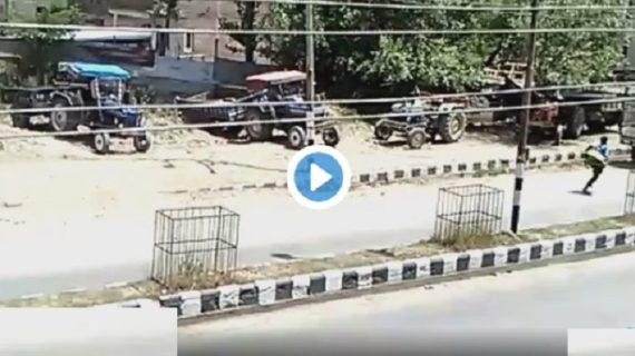 अनंतनाग में आतंकी वारदात का वीडियो कैमरे में कैद