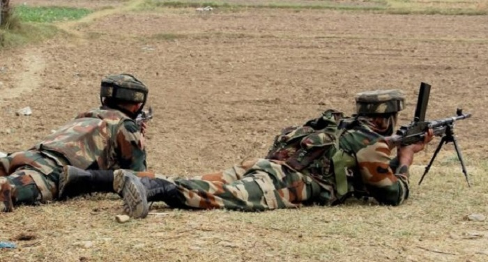 BSF कश्मीर में आतंकी मुठभेड़, बीएसएफ के 2 जवान शहीद