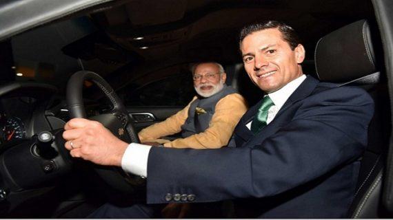 …जब पीएम मोदी के लिए ड्राइवर बने मेक्सिको के राष्ट्रपति