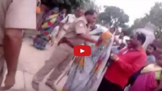 यूपी पुलिस की करतूत: महिला ने मदद के लिए बुलाया तो मिलीं गालियां