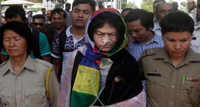 Irom Sharmila दुनिया की भीड़ में तन्हा हुईं इरोम चानू शर्मिला
