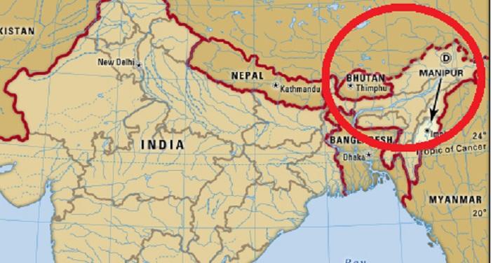 Manipur मणिपुर: पूर्वी इंफाल में बीएसएफ कैंप के नजदीक धमाका