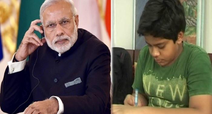 Modi Devansh ...मोदी अंकल मेरी बस नहीं आई तो मैं स्कूल कैसे जाऊंगा !