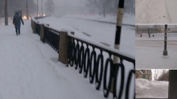 बीजिंग में 40 घंटों तक बर्फबारी जारी रहने का अनुमान