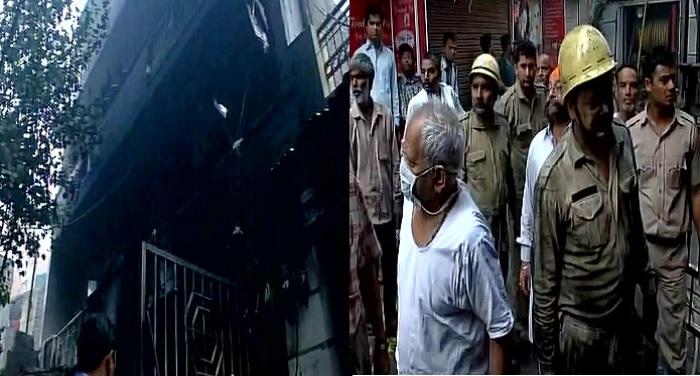 fire in Delhis Shahdara area 3 people died दिल्ली के शाहदरा इलाके में लगी भीषण आग, 3 लोगों की हुई मौत