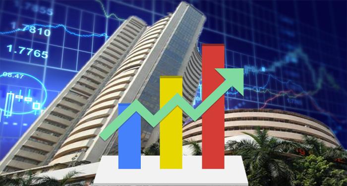 shayar bajar1 शेयर बाजार में निवेशकों की नजर वैश्विक आंकड़ों पर