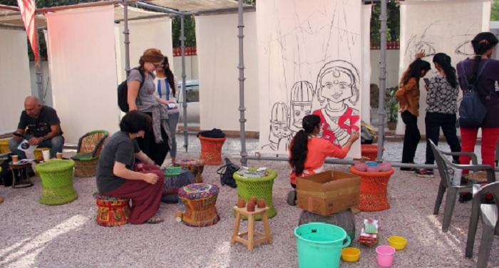 art जयपुर आर्ट समिट में न्यूड पेंटिंग पर हंगामा
