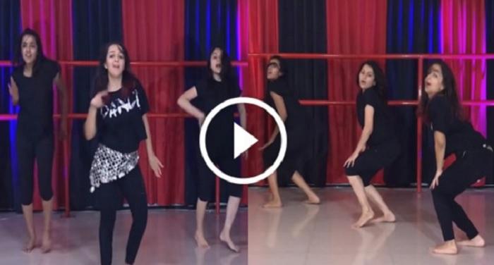 girl dance 'रईस' के गाने पर हॉट डांस देखकर शाहरुख के छूटे पसीने