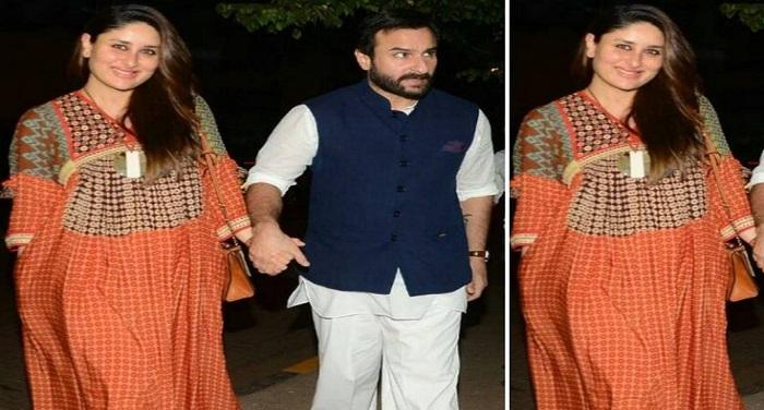 kareena3 न्यूली मॉम करीना ने सैफ के साथ किया रोमांटिक डिनर...देखिए तस्वीरें