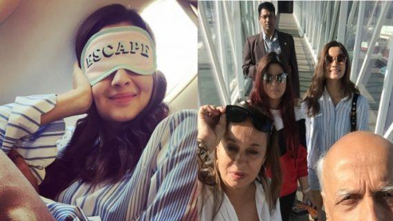 शूटिंग छोड़ परिवार संग छुट्टी मनाने आलिया मालदीव रवाना