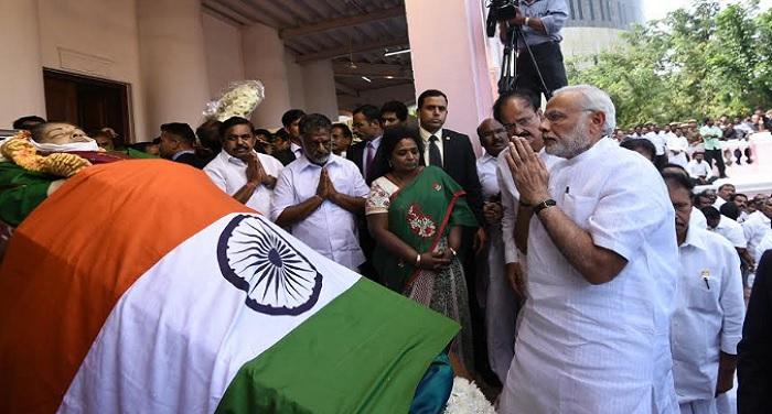 modi 3 जयललिता को श्रद्धांजलि देते हुए भावुक हुए पीएम मोदी