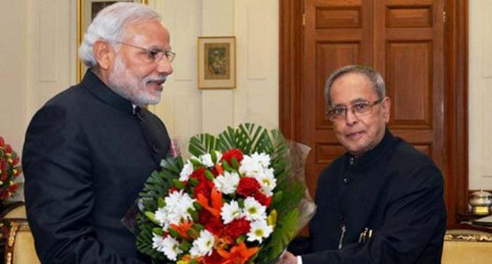 modi 5 प्रणब मुखर्जी के जन्मदिन पर मोदी, राहुल ने दी शुभकामनाएं