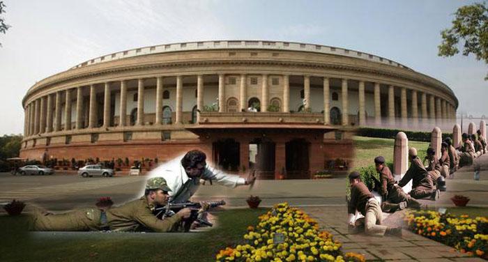 parliament attack लोकतंत्र के मंदिर को गंदा करने की पाक ने रची थी नापाक साजिश
