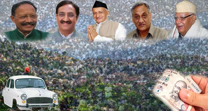 utharakhand purw cm माननीयों ने गाड़ियों पर किए करोड़ों खर्च...