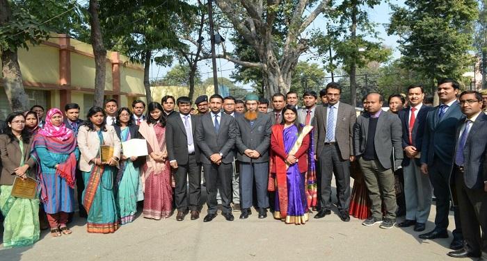 bangladesh team बांग्लादेशी अधिकारियों का प्रतिनिधिमंडल पहुंचा मेरठ