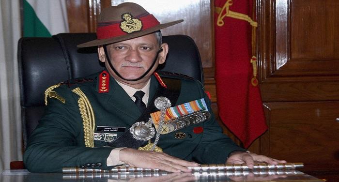 bipin rawat 1 वट्सएप नम्बर पर सेना के जवान आर्मी चीफ से कर सकते हैं शिकायत