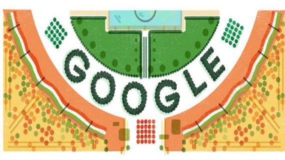 गणतंत्र दिवस के जश्न में शरीक हुआ गूगल, बनाया खास डूडल