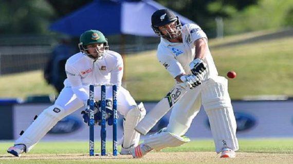 दूसरे टेस्ट मैच में न्यूजीलैंड ने बांग्लादेश को दी मात