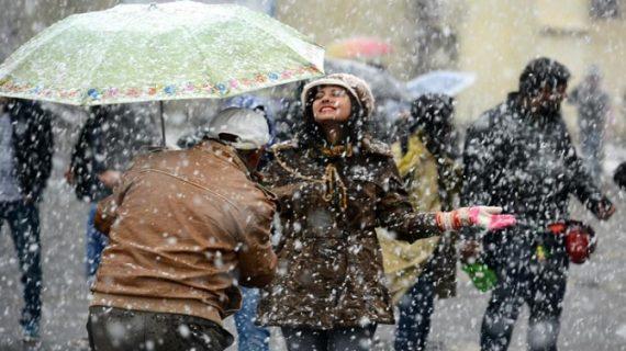 ऊंची चोटियों पर हो सकती है बारिश और बर्फबारी