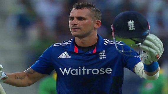 चोट के कारण इंग्लैंड के बल्लेबाज एलेक्स हेल्स भारत दौरे से बाहर