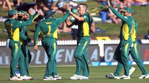 दक्षिण अफ्रीका ने पहले एकदिवसीय में न्यूजीलैंड को हराया