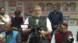 मुख्यमंत्री नीतीश कुमार का विरोध हवा में तलवार चलाने जैसा :सुशील मोदी