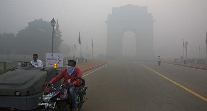 air pollution2 बारिश से शहर की वायु गुणवत्ता में आया सुधार