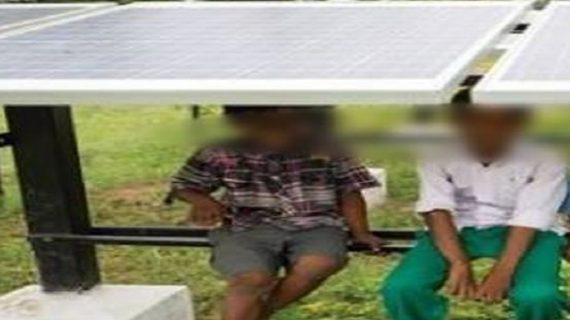 गांव वालों की मदद से मानव तस्कर के चंगुल से छूटे 2 बच्चे