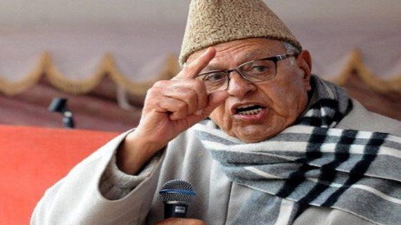 कश्मीर मुद्दे पर फारूक को कांग्रेस-जदयू का समर्थन, भाजपा का विरोध