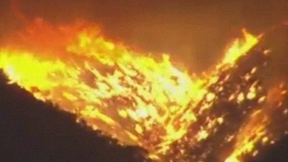 पंजाब-हरियाणा सीमा पर तेल टैंकर में आग से हड़कंप