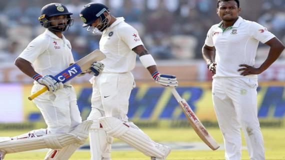 388 रनों पर सिमटी बांग्लादेश की टीम