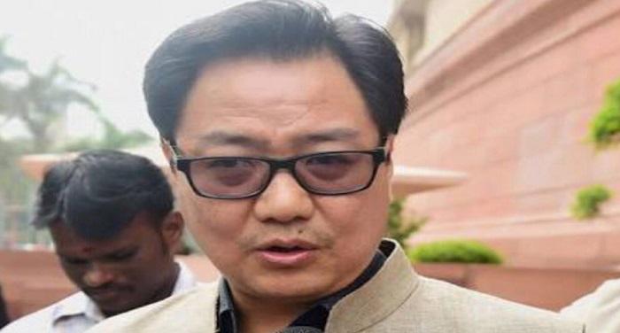 kiran rijau कोरोना का कहर: अब खेल मंत्री किरण रिजिजू हुए संक्रमित