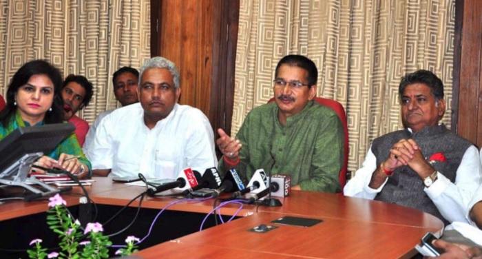 kishore नोटंबदी के बाद भाजपा नेताओं के पास कहां से आया धन: किशोर उपाध्याय