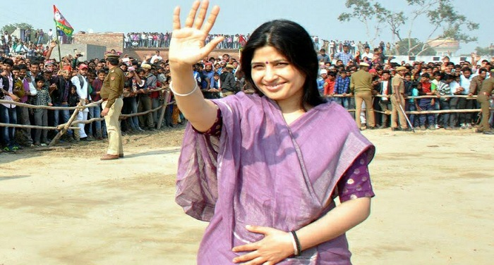 lakimpur सपा की स्टार प्रचार डिंपल ने भाजपा सरकार पर बोला हमला