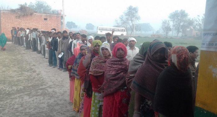 यूपी विस चुनावः खत्म हुआ तीसरे चऱण का मतदान