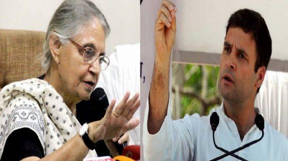 अभी मैच्योर नहीं है कांग्रेस के युवराज, लगेगा समय : शीला दीक्षित