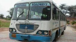 परिवहन मंत्री ने पकड़ी फर्जी रोड़वेज बस