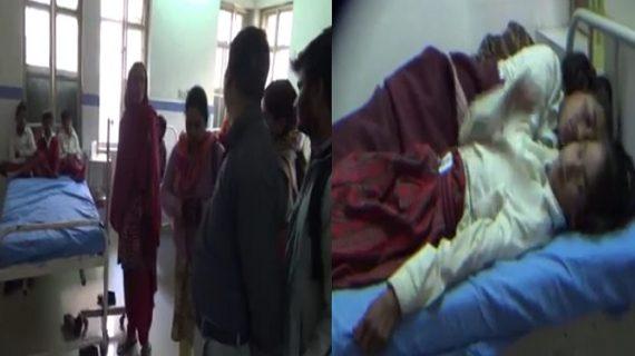 कृमि मुक्ति दिवसः दवाई के रिएक्शन से कई छात्र पड़े बीमार