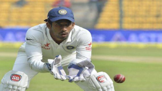 भारत ने 687 रन पर घोषित की पारी, साहा ने भी जड़ा शतक