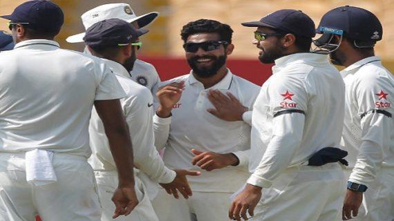 हैदराबाद टेस्ट : लंच तक भारत ने 2 विकेट खोकर 198 रन बनाए
