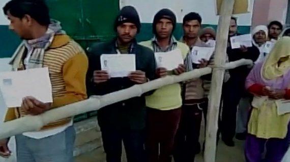 यूपी विस चुनावः 1 बजे तक 40 फीसदी मतदान