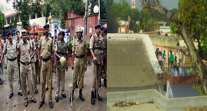 7 फर्रुखाबाद जिला जेल में कैदियों का हंगामा, पुलिस पर किए पथराव