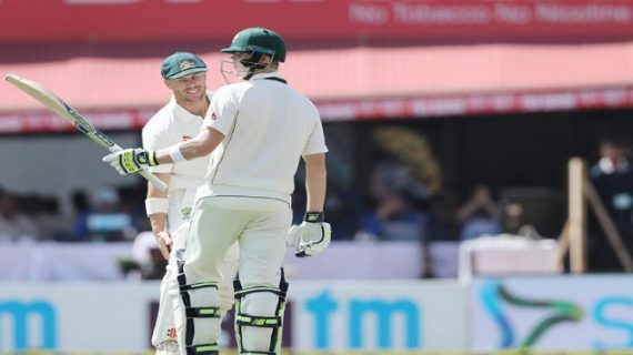 धर्मशाला टेस्ट: ऑस्ट्रेलिया को पहला झटका, उमेश ने लिया विकेट