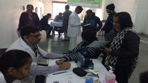 पटना में दो दिवसीय स्पाईन परीक्षण शिविर का समापन