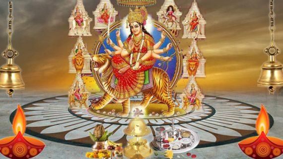 देशभर में नवरात्र की धूम, जानिए कहां कैसे सजाए गए मंदिर