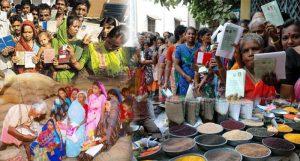 rashan योगी सरकार आज से कार्डधारकों को देगी मुफ्त राशन, मिलेंगे 20 किलो गेहूं और 15 किलो चावल