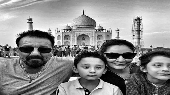 शूटिंग के दौरान परिवार संग समय बिता रहे हैं संजय