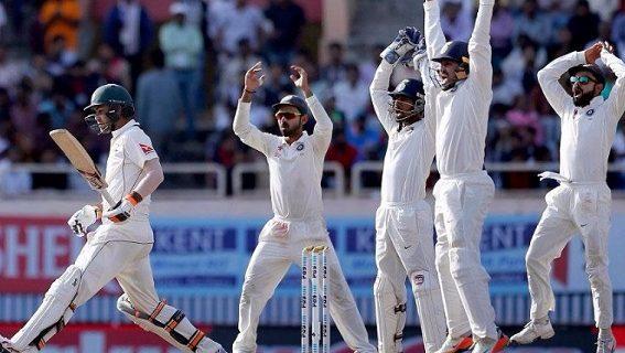 धर्मशाला टेस्ट: दूसरा दिन-लंच तक भारत ने एक विकेट पर बनाए 64 रन