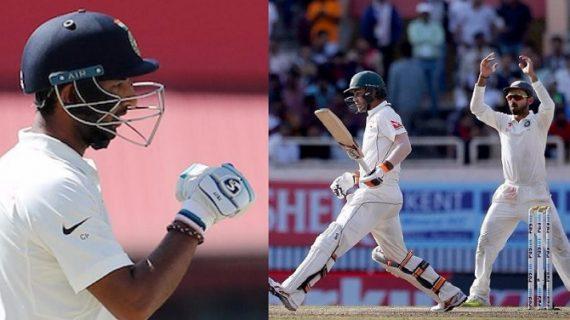 भारत की पहली पारी 332 रन पर समाप्त, 32 रन की बढ़त