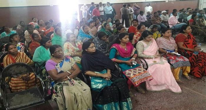 women day धूमधाम से मनाया गया विश्व महिला दिवस